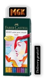 Marcadores Pitt Artist Pen Faber-castell