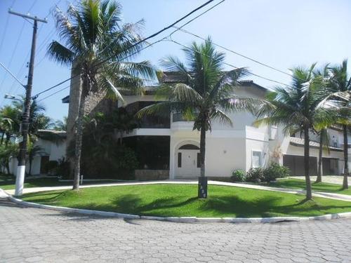 Casa Residencial À Venda, Acapulco Iii, Guarujá - Ca1280. - Ca1280