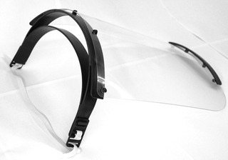 10 Face Shield - Protetor Facial Impresso Em 3d - Epi