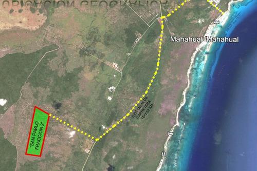 Imagen 1 de 2 de Venta De Terreno En Mahahual Quintana Roo
