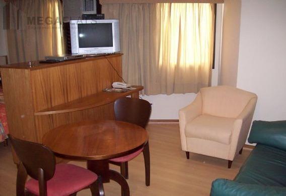 03085 - Flat 1 Dorm, Brooklin Novo - São Paulo/sp - 3085