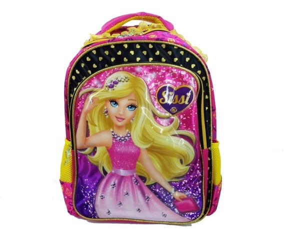 Mochila Barbie Sissi Infantil 41cm