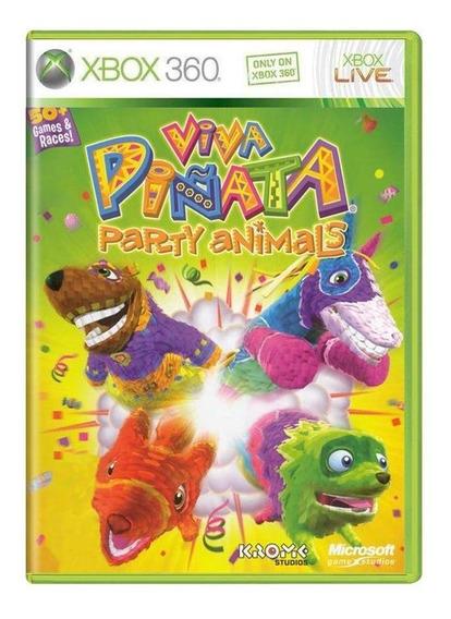 Viva Piñata Party Animals Xbox 360 Mídia Física