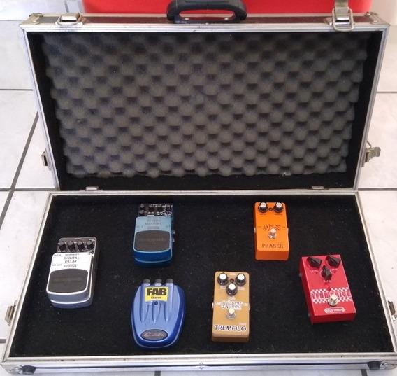 Vendo Case + Pedais Guitarra