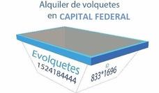 Alquiler De Volquetes Todo Capital Federal - 15 2418 4444