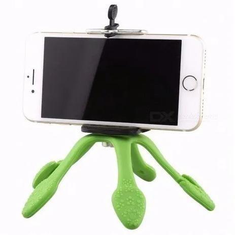Mini Tripé Suporte Flexível Celular Selfie Gravação O Melhor