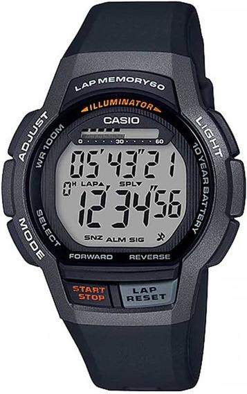 Relógio Casio Masculino Lap Memory 60 Standard Ws-1000h-1av