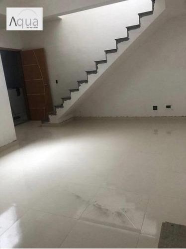Imagem 1 de 15 de Cobertura Para Venda Em Santo André, Vila Scarpelli, 2 Dormitórios, 1 Banheiro, 1 Vaga - Sa010_2-1162544