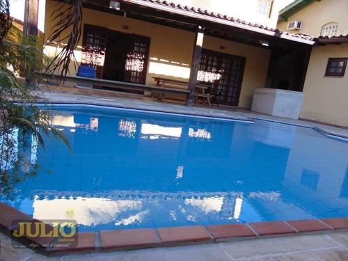 Imagem 1 de 30 de Casa Com 3 Dormitórios À Venda, 320 M² Por R$ 1.200.000,00 - Canto Do Forte - Praia Grande/sp - Ca3561