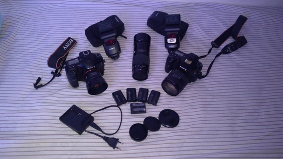 Sony Alpha Kit - A99 (fullframe) + A77 (aps-c) + 50mm 1.4+..