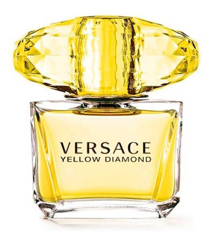 Imagen 1 de 6 de Perfume Importado Mujer Versace Yellow Diamond Edt 90ml