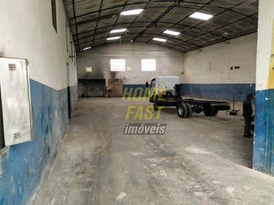 Galpão Para Alugar, 600 M² Por R$ 5.000/mês - Cidade Industrial Satélite De São Paulo - Guarulhos/sp - Ga0031
