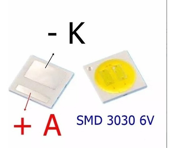 Kit De Led Smd 120 Leds - 60 Leds 3030 E 60 Leds 3528/2835 -