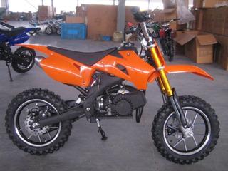 Mini Moto Motocross De Gasolina Para Niños -nuevas-