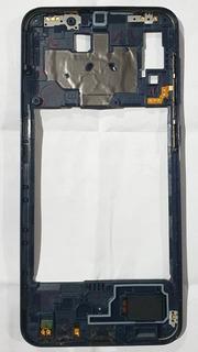 Aro Lateral Completo Com Botões E Flex Samsung A20 A205