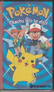 Pokemon - Pikachu Yo Te Elijo (vhs Nuevo Nintendo Tycoon)