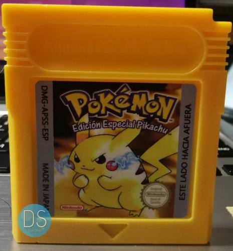 Imagen 1 de 3 de Pokemon Yellow Amarillo Version Español Re-pro Gbc Gba Full