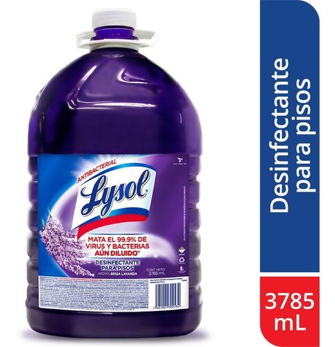 Imagen 1 de 4 de Lysol Desinfectante Para Pisos Lavanda 3785ml