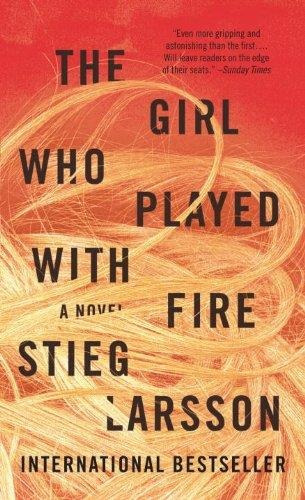 The Girl Who Played With Fire- Vintage Usa