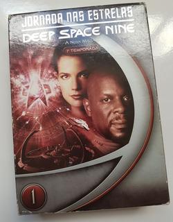 Box Dvd Jornada Nas Estrelas Deep Space Nine 1º Temporada