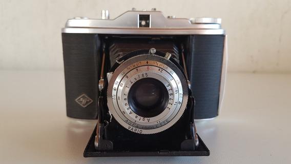 Câmera Fotográfica Antiga Marca Agfa Isolette Raridade