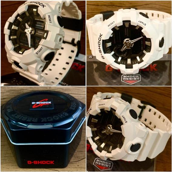 Relógio G-shock Ga-700-7adr Original Caixa E Certificado.