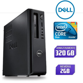Cpu Dell Core 2 Duo Ram 2gb Hd 320gb Usado
