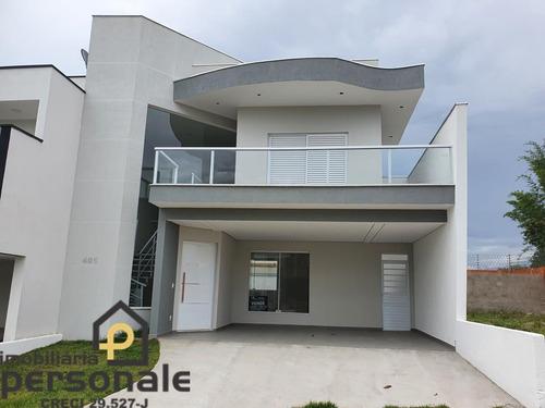 Casa Em Condomínio Em Sorocaba, Terras De São Francisco - Ca00478 - 69304500