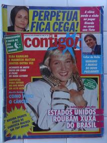 Contigo Nº 745 - Eua Roubam Xuxa - Poster Beth Carvalho 1989