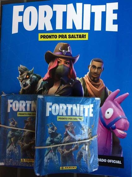 Fortnite: Álbum + 200 Figurinhas. Lançamento!