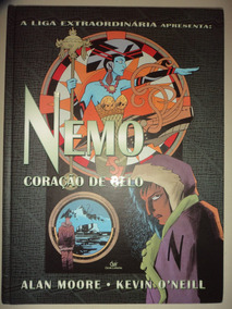 Liga Extraordinaria Nemo Coracao De Gelo Alan Moore Devir