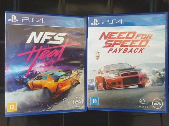 Jogos Ps4, Need For Speed Heat & Payback