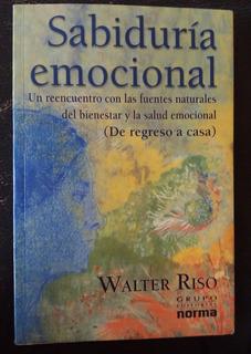 Libro Sabiduria Emocional De Walter Riso