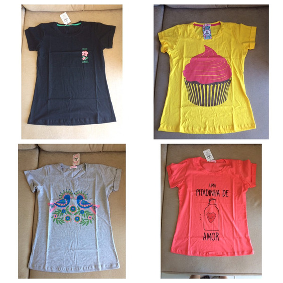 T-shirts 100% Algodãoalgodao