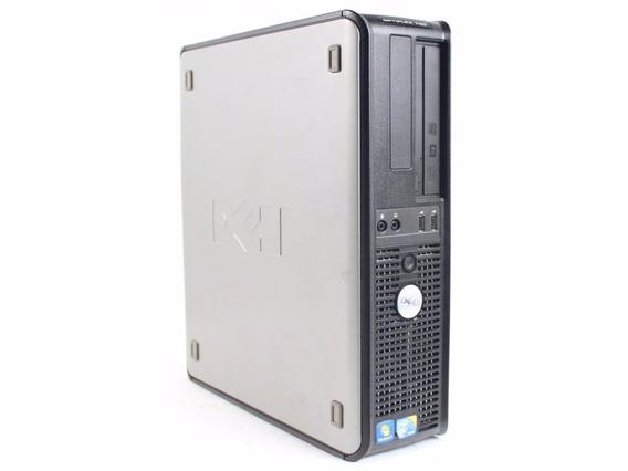 Cpu Dell 780 Slim Core2duo Hd500gb 8gb Ddr3