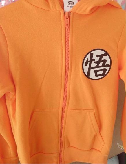 Ropa De Niño Sudadera Goku Dragon Ball Talla 6 Años