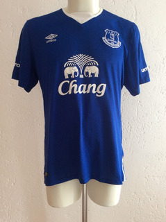 Jersey Everton Inglaterra Local Temporada 2015-2016 Umbro