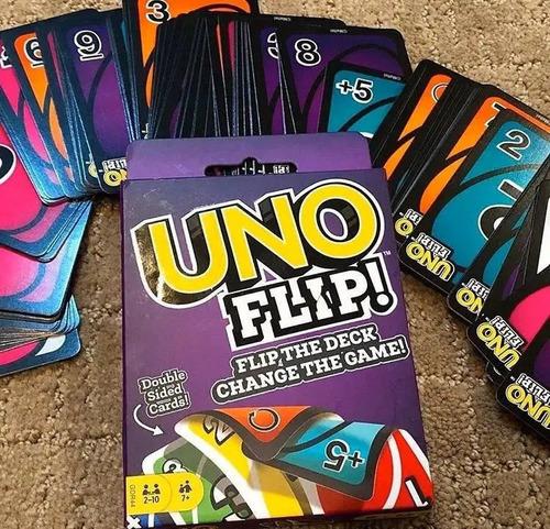 Cartas Uno Flip Juego Games 2 Caras - En Español