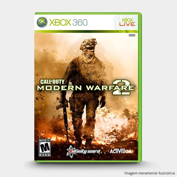 Call Of Duty: Modern Warfare 2 - Original Xbox 360 - Novo