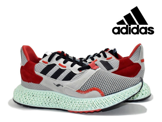 Tênis adidas Zx 4000 4d Grey Three Sneakers 70% Off
