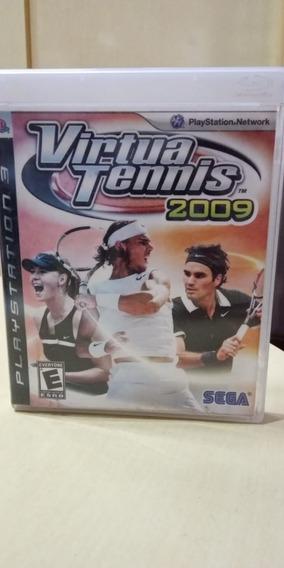 Virtua Tennis 2009 Ps3 Mídia Física