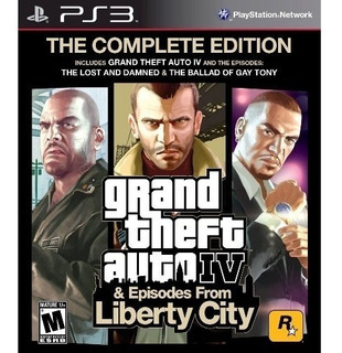 Gta 4 & Episodes From Liberty City Ps3 Fisico