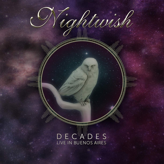 Nightwish Decades Live In Buenos Aires Blu-ray + Cd Doble
