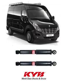 Amortecedores Traseiros Kayaba Renault Master Furgão Minibus