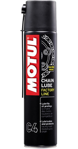 Motul C4 Chain Lube 400ml Spray Lubrif Corrente Factory Line