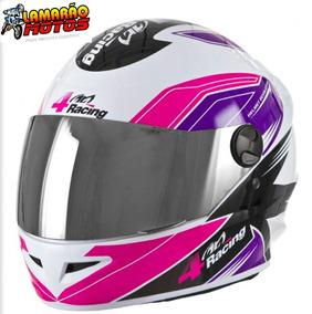 Capacete 4 Racing Pink Lilas