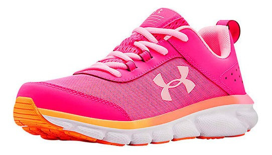 Tenis Casual Mujer Under Armour Fucsia Sint Running W92566