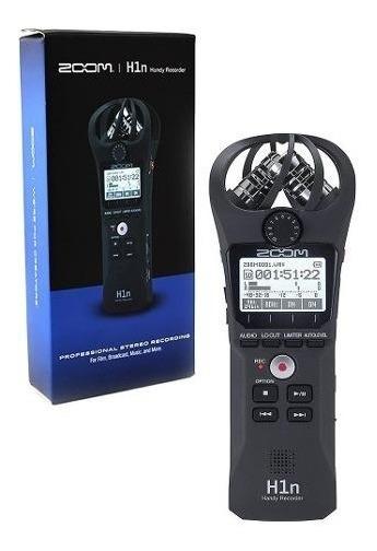 Gravador Digital Zoom H1n H1 N Portátil Lançamento Mod Promo