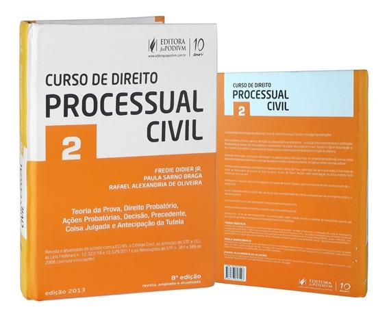 Livro Curso De Direito Processo Civil Vol.2 Fredie Didier