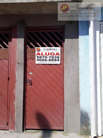 Casa Com 1 Dormitório Para Alugar, 200 M² Por R$ 550/mês - Jardim Branca Flor - Itapecerica Da Serra/sp - Ca0223